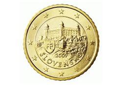 50 Cent Slowakije 2009 UNC
