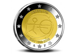 Nederland 2009 2 Euro Emu Unc
