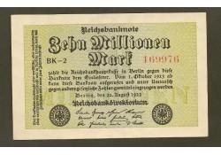 P106a Duitsland 10 Miljoen Mark Unc-