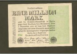 P102a Duitsland 1 Miljoen Mark Unc-