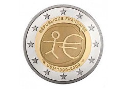 2 Euro Frankrijk  2009 Emu UNC