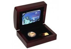 Nederland 2009 10 euro Manhattan Goud Proof