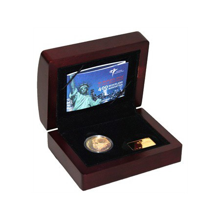 Nederland 2009 10 euro Manhattan Goud Proof