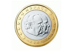 Monaco 2002 1 Euro UNC