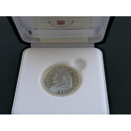 Vaticaan 2005 10 Euro Eucharistie jaar Proof