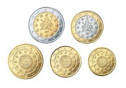 Serie Portugal 2003 UNC (5 munten)