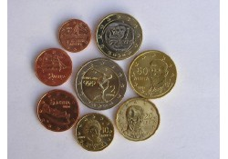 Serie Griekenland 2004 UNC Met de 2 euro dicuswerper