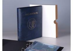 Importa FDC muntset album blauw 0203