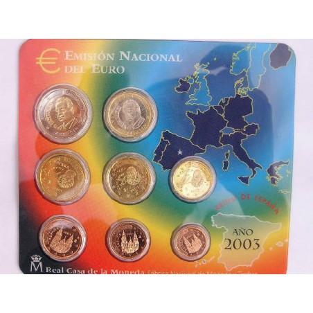 Bu set Spanje 2003
