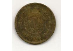 Km 16 Straits Settlements 1 cent 1898 Fr+