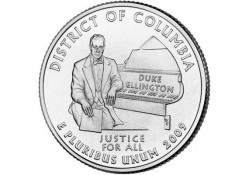 KM 445 U.S.A ¼ Dollar Colombia 2009 D UNC