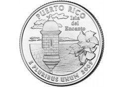 KM 446 U.S.A ¼ Dollar Puerto Rico 2009 D UNC