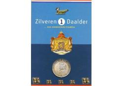 Penning Zilveren Daalder 2001 Kievitsbloem