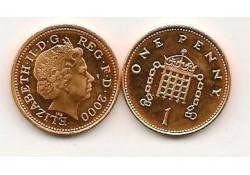 Km 986 Groot Brittanië 1 Penny 2000 Unc