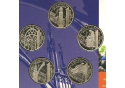 Penningen 750 jaar Utrecht 5 dommetjes 2004