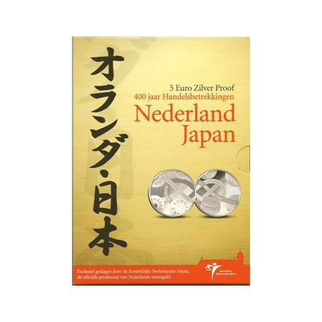 Nederland 2009 5 euro Ned-Japan Proof