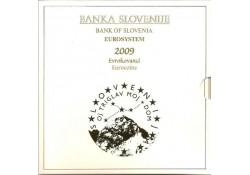 Bu set SLovenië 2009 Met de 3 euromunt.