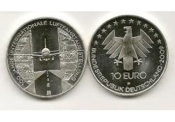 10 Euro Duitsland 2009 D 100 Jaar luftfahrt