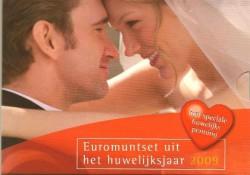 Huwelijksset 2009 Met penning