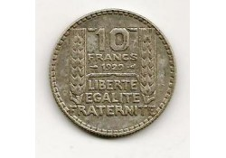 Km 878 Frankrijk 10 frank 1935 Zf