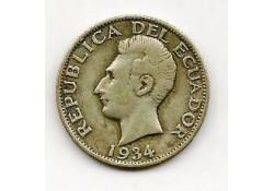Km 72 Ecuador 1 Sucre 1934 Zf