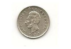 Km 55.1 Ecuador ½ Decimo 1912 Zf+
