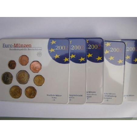 Bu sets Duitsland 2002 ADFGJ
