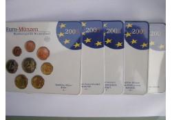 Bu sets Duitsland 2005 ADFGJ