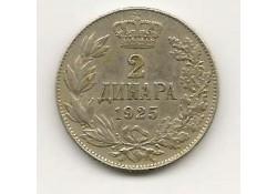 Km 6 Yugoslavië 2 Dinara 1925 Zf