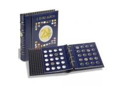 Leuchtturm Vista muntalbum voor de 2 euromunten Incl cassette