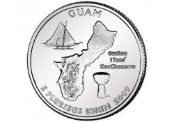 KM 447 U.S.A ¼ Dollar Guam 2009 P UNC