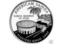KM 448 U.S.A ¼ Dollar Samoa 2009 D UNC