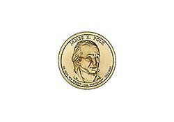 KM ??? U.S.A. 11th President Dollar 2009 D James K. Polk
