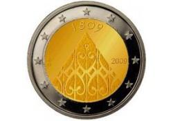 2 Euro Finland 2009 200 jaar Autonomie Unc