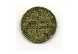 Km 484 Duitsland Pruissen ½ Silber Groschen 1871a Zf