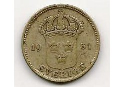 Km 788 Zweden 25 Öre 1931 Zf