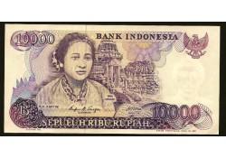 P126 Indonesië 10.000 Rupiah Unc