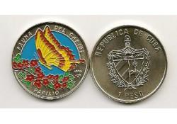 Km 565 Cuba 1 Peso 1996 Unc