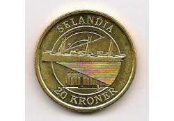 Km 926 Denemarken 20 Kroner 2008 Unc