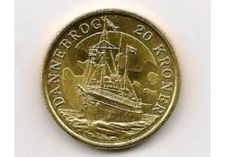 Km 928 Denemarken 20 Kroner 2008 Unc