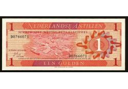 P 20 Nederlandse Antilen 1 gulden Unc