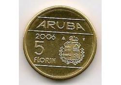 5 Florin Aruba 2006 Unc/Fdc