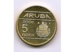 5 Florin Aruba 2008 Unc/Fdc