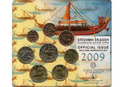Bu set Griekenland 2009 met de normale 2 euro
