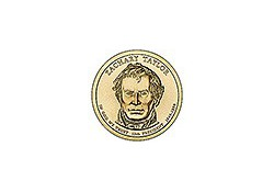 KM ??? U.S.A. 12th President Dollar 2009 P Zachary Taylor