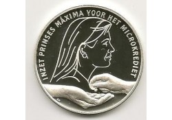 Penning Zilver WA Maxima voor het Microkrediet.