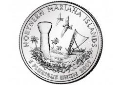 KM 466 U.S.A ¼ Dollar Mariana Islands 2009 P UNC