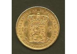 10 Gulden goud 1833U Pr-
