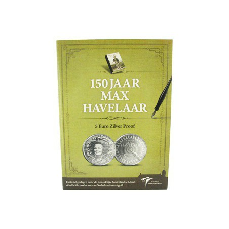 Nederland 2010 5 euro Max Havelaar Proof in blister