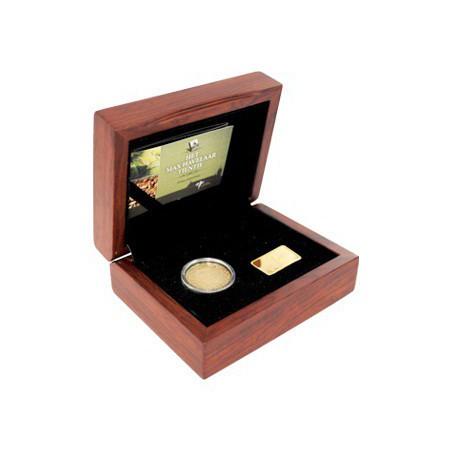 Nederland 2010 10 euro Max Havelaar Goud Proof